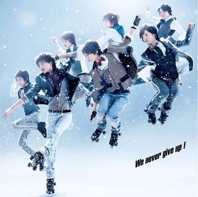 幻想的な雪の中でアクロバティックなKis-My-Ft2