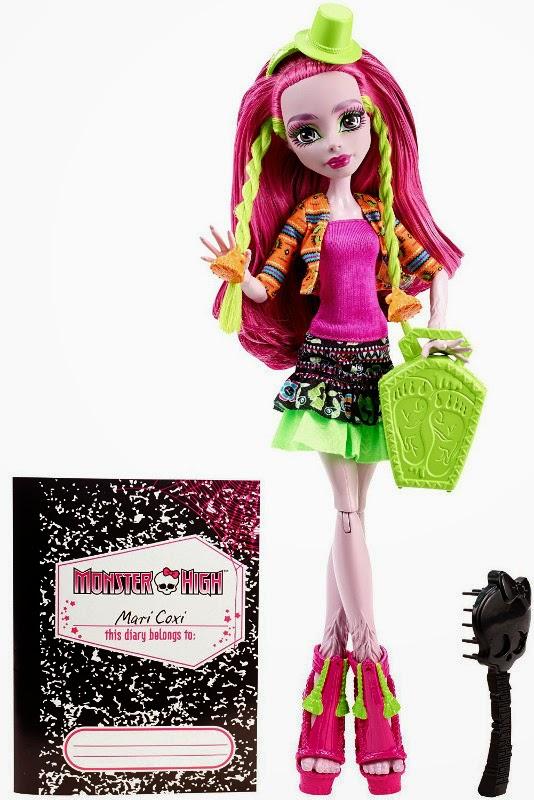 JUGUETES - MONSTER HIGH  Monster Exchange - Marisol Coxi | Muñeca  Producto Oficial | Mattel | A partir de 6 años