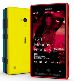 Nokia Lumia 720 Spesifikasi dan Harga