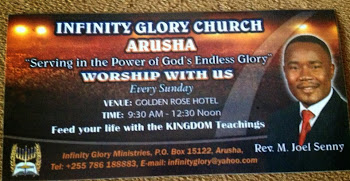 Worship with us Every Sunday at Golden Rose Hotel Arusha - TZ from 09:30am