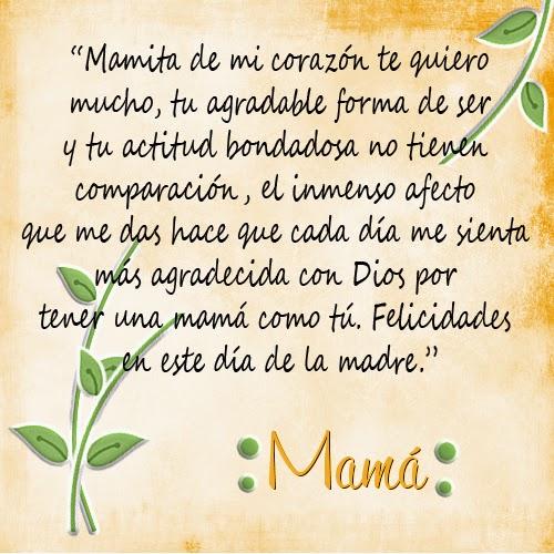 Frases Para Las Madres en su Dia Para el Dia de Las Madres
