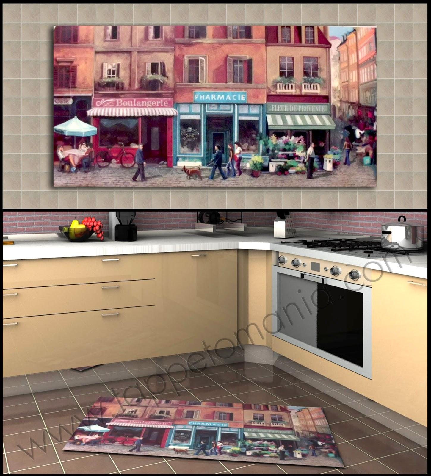 tessili-tappeti cucina-tappeti cucina antimacchia | ARREDARE LA CASA ...