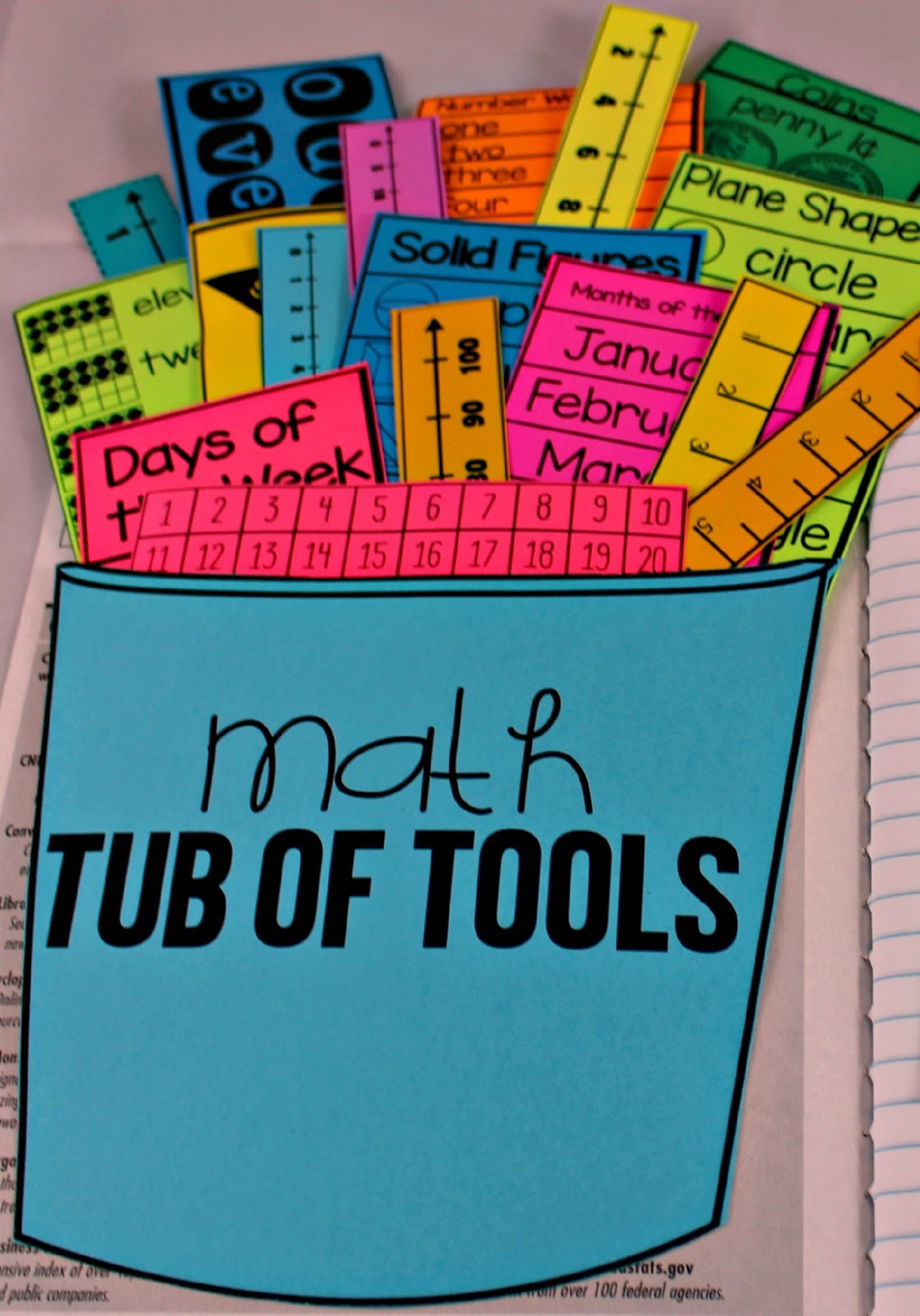 Math Tools for Reference! - Tunstall\'s Teaching Tidbits
