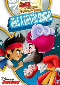 Filme Jake e Os Piratas da Terra do Nunca Jake x Capitão Gancho