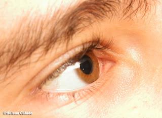 fotografa de um olho