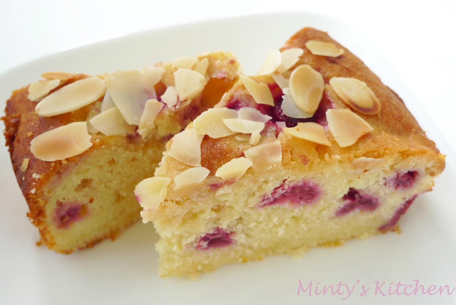 Minty's Kitchen: Raspberry-Lemon Ricotta Cake
