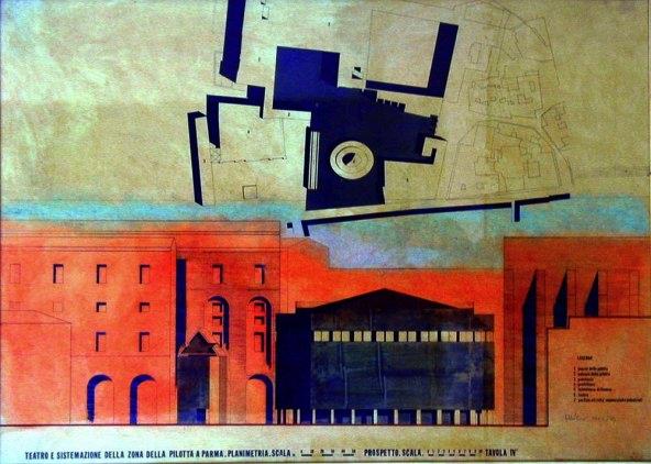Ars artis press aldo rossi teatri parte prima for Aldo rossi architettura della citta