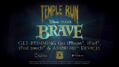 Temple Run Brave videojuegos
