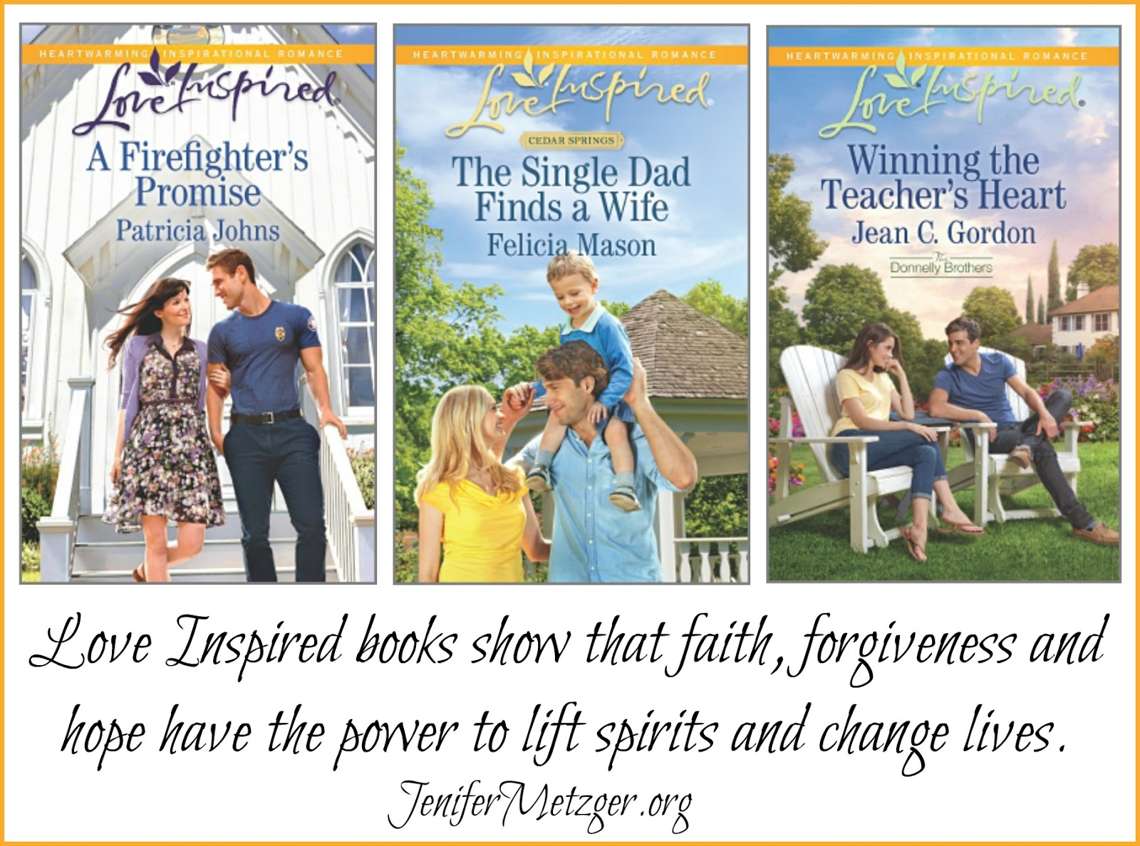 Love Inspired books show that faith, forgiveness and hope have the power to lift spirits and change lives. #LoveInspired #fictionbooks #giveaway