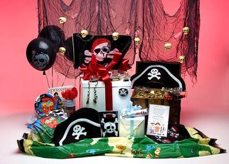 Centros de Mesa Piratas del Caribe, parte 1
