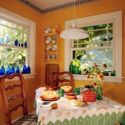Decorar cocinas al estilo mexicano cocina y muebles - Decoracion cortinas cocina ...