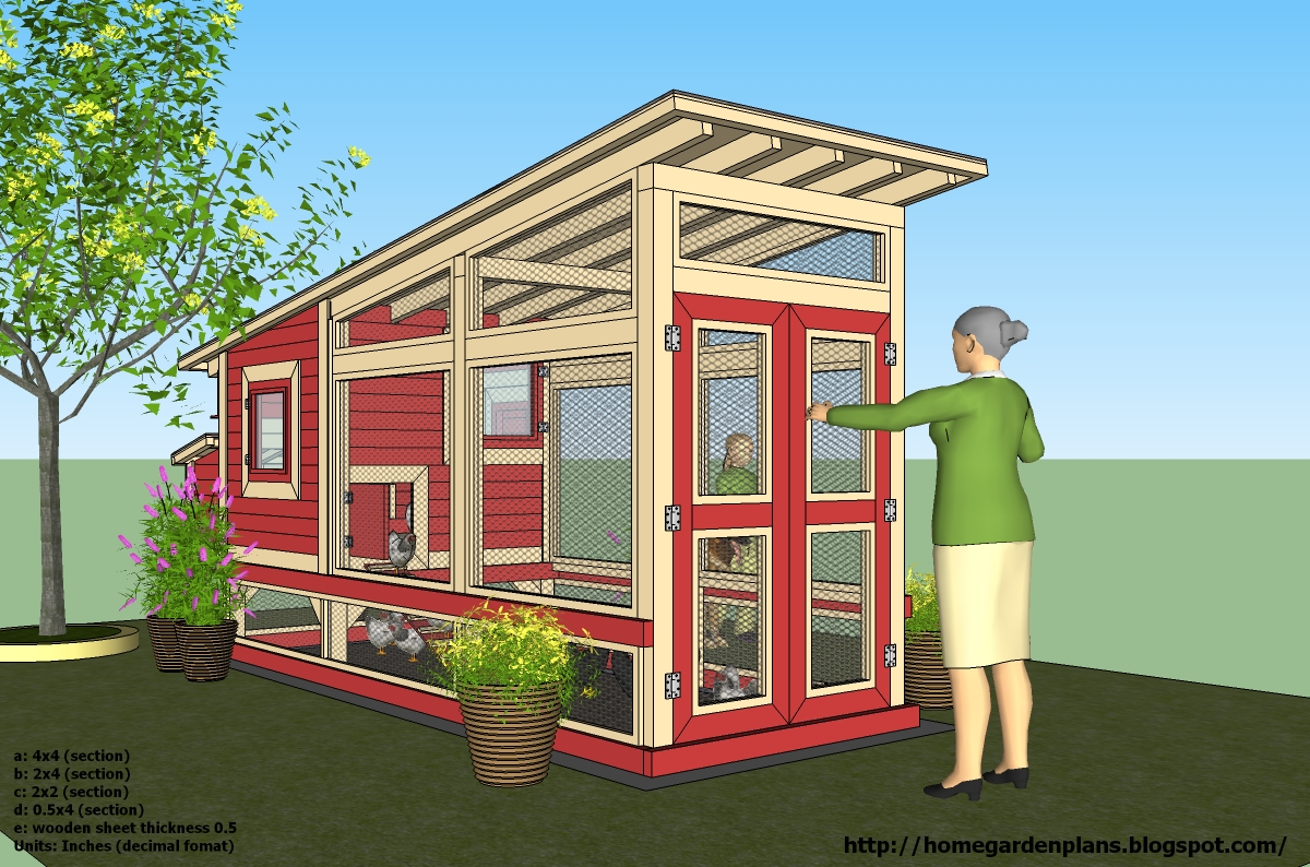 Free chicken coop plans download tutor for Free coop plans