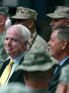 Senators John McCain and Lindsey Graham