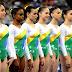 Seleção de ginástica feminina viaja pra Alemanha
