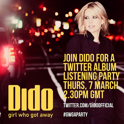 dido girl who got away listening party