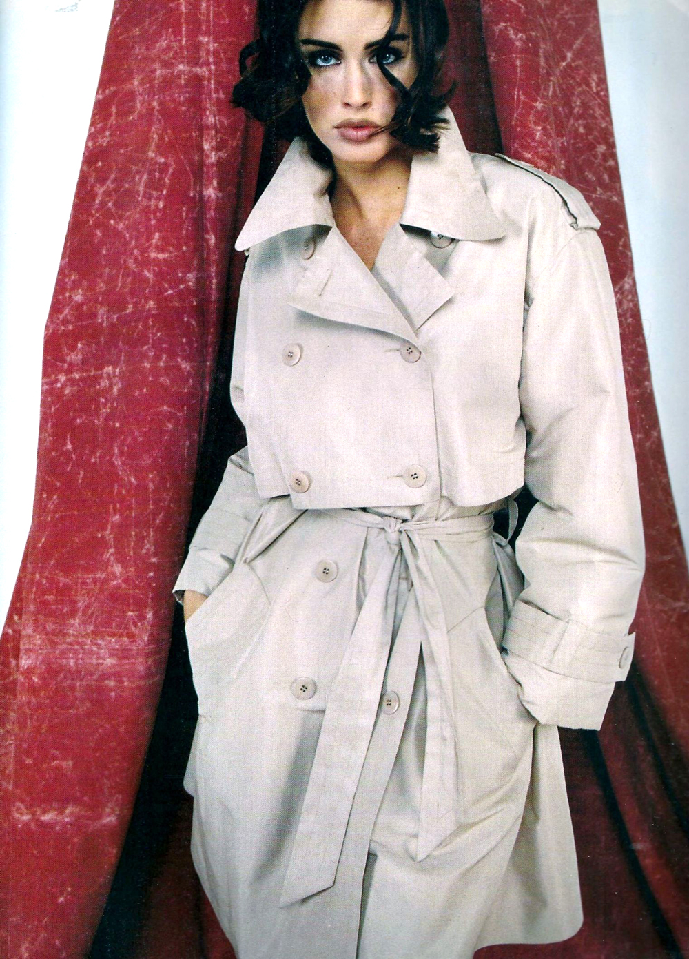 Elle France December 1991 via www.fashionedbylove.co.uk