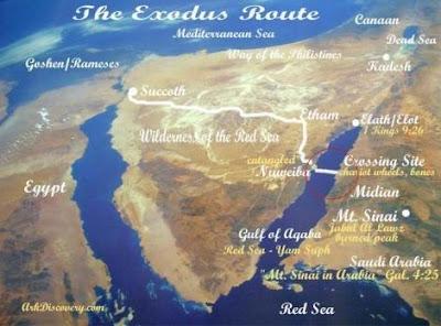 Lokasi dipercayai Nabi Musa bersama para kaumnya menyeberangi Laut Merah