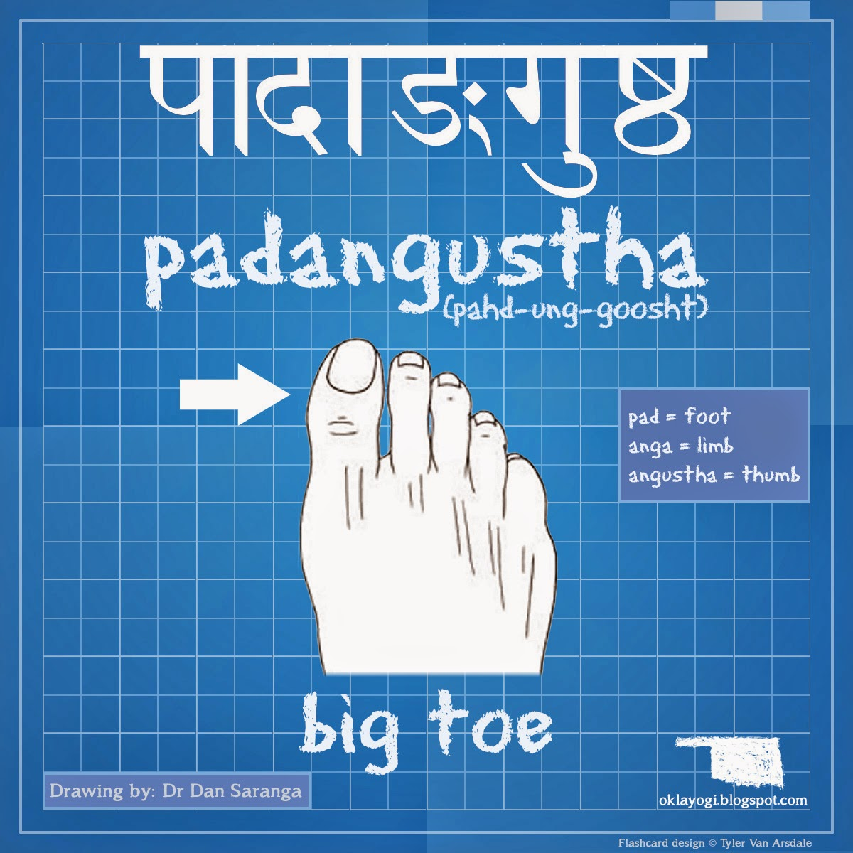 Okla-Yogi: My Adventure in India: Sanskrit Friday: Big Toe ...