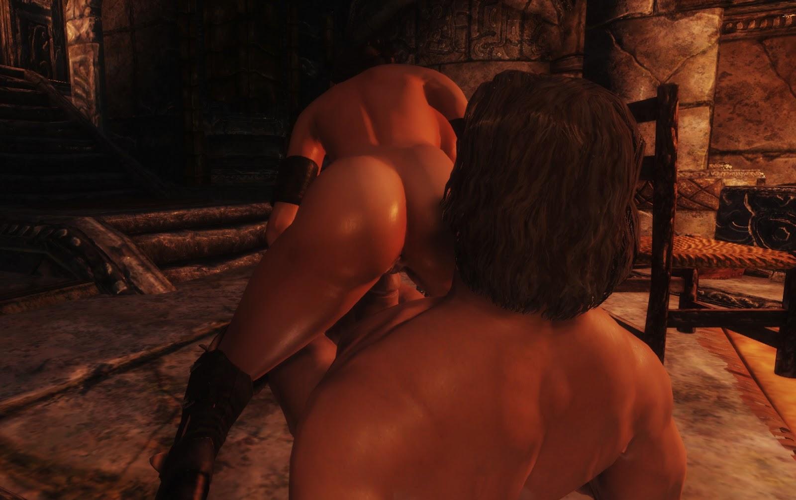 Porn in skyrim fucked clip