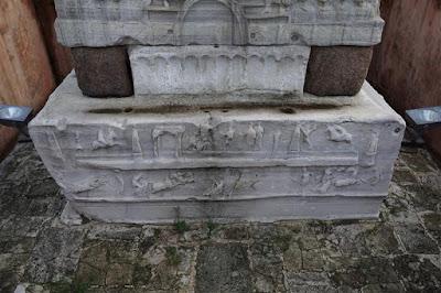 Pedestal en el antiguo hipódromo