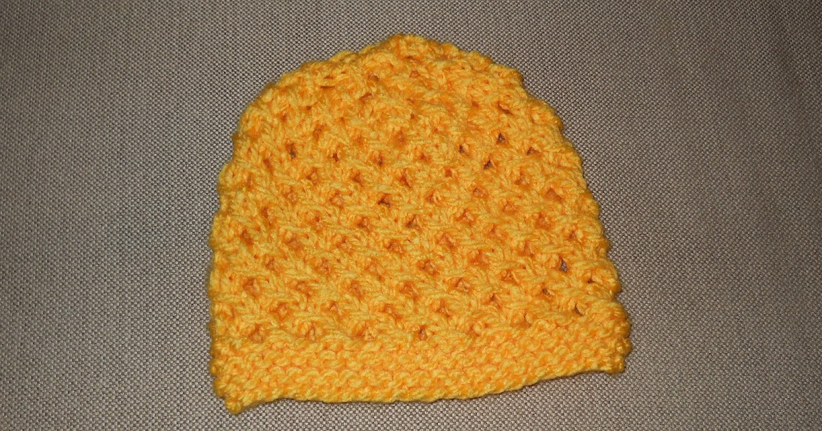 how to make sure knitting no show through in hat