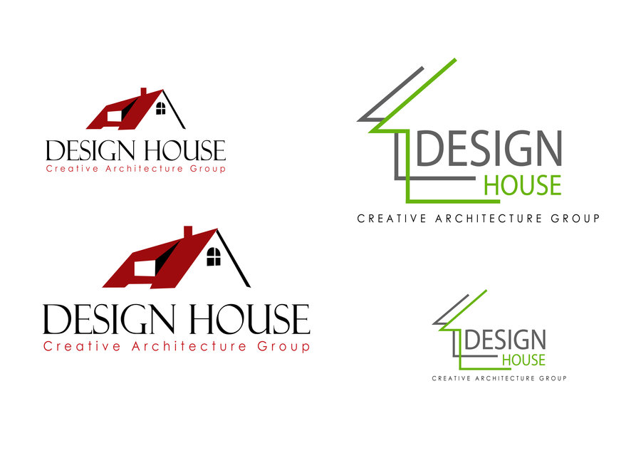 Architecture villa image architecture logo for Architecture logo inspiration