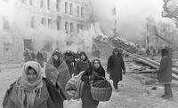 ფაშისტური გერმანიის ავიაციის მიერ დაბომბილი ლენინგრადი