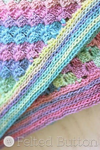 Spring into Summer Blanket--FREE Crochet Pattern