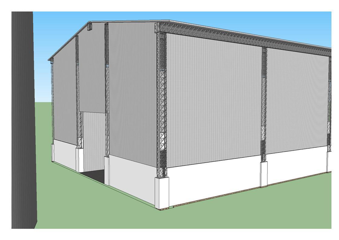 Gallois Arquitetura: Galpão de Cereais #0A7BC1 1122 793