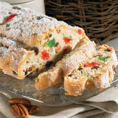 our traditional christmas breakfast consists of this doughyfruity bread on which we spread jam or butter my mom works so hard to make this delicacy
