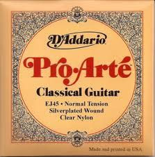 Senar gitar ( D'ddariio el-45 nylon )