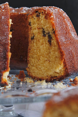 Orange buttermilk Bundt Cake o Bundt cake de naranja