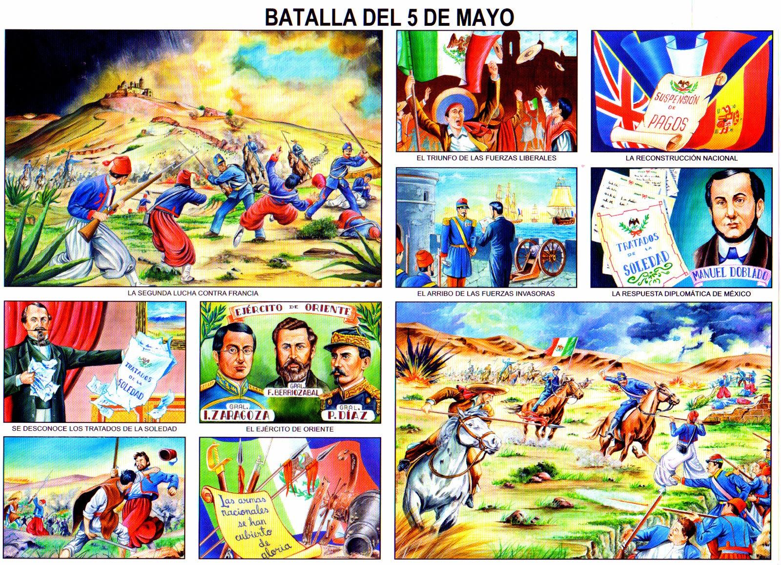 La batalla del 5 de mayo [Monografía]