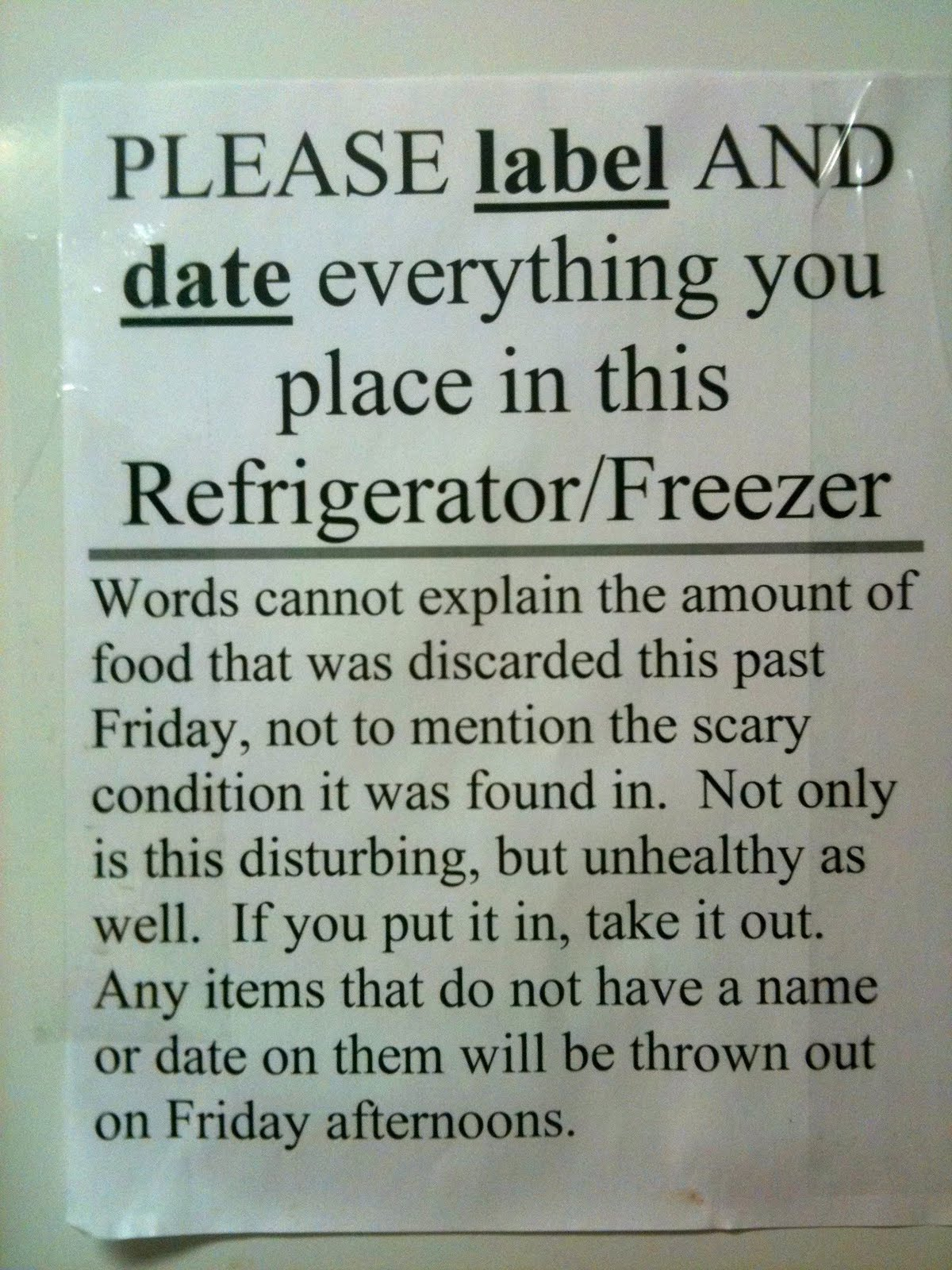 Good Work Refrigerator Signs Funny Work Refrigerator Signs Funny 1200 X  1600 · 263 KB · Jpeg