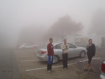 Queen Wilhelmina State Park Fog