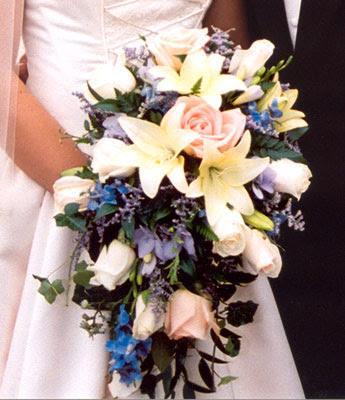 Elegant Wedding Flower Bouquets