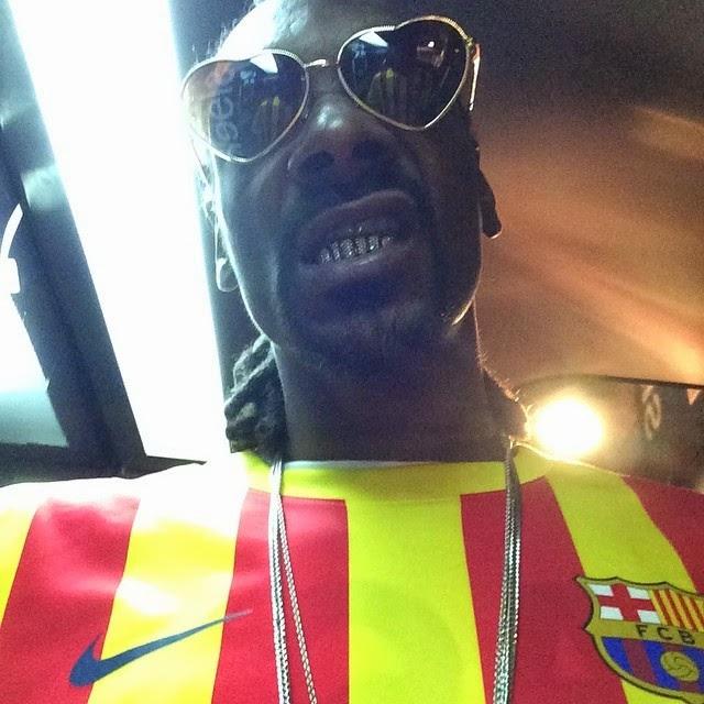 Snoop Dogg juega para el Barcelona de España