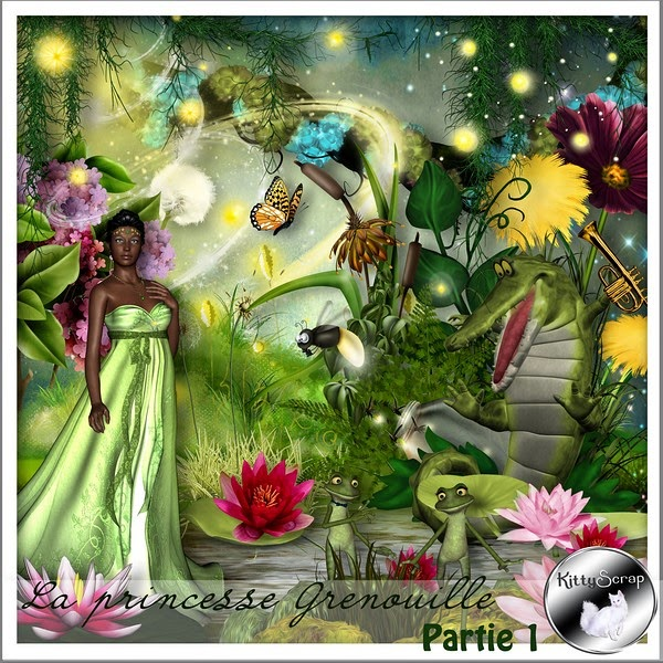 COLLECTION La princesse grenouille de Kittyscrap dans Avril 1
