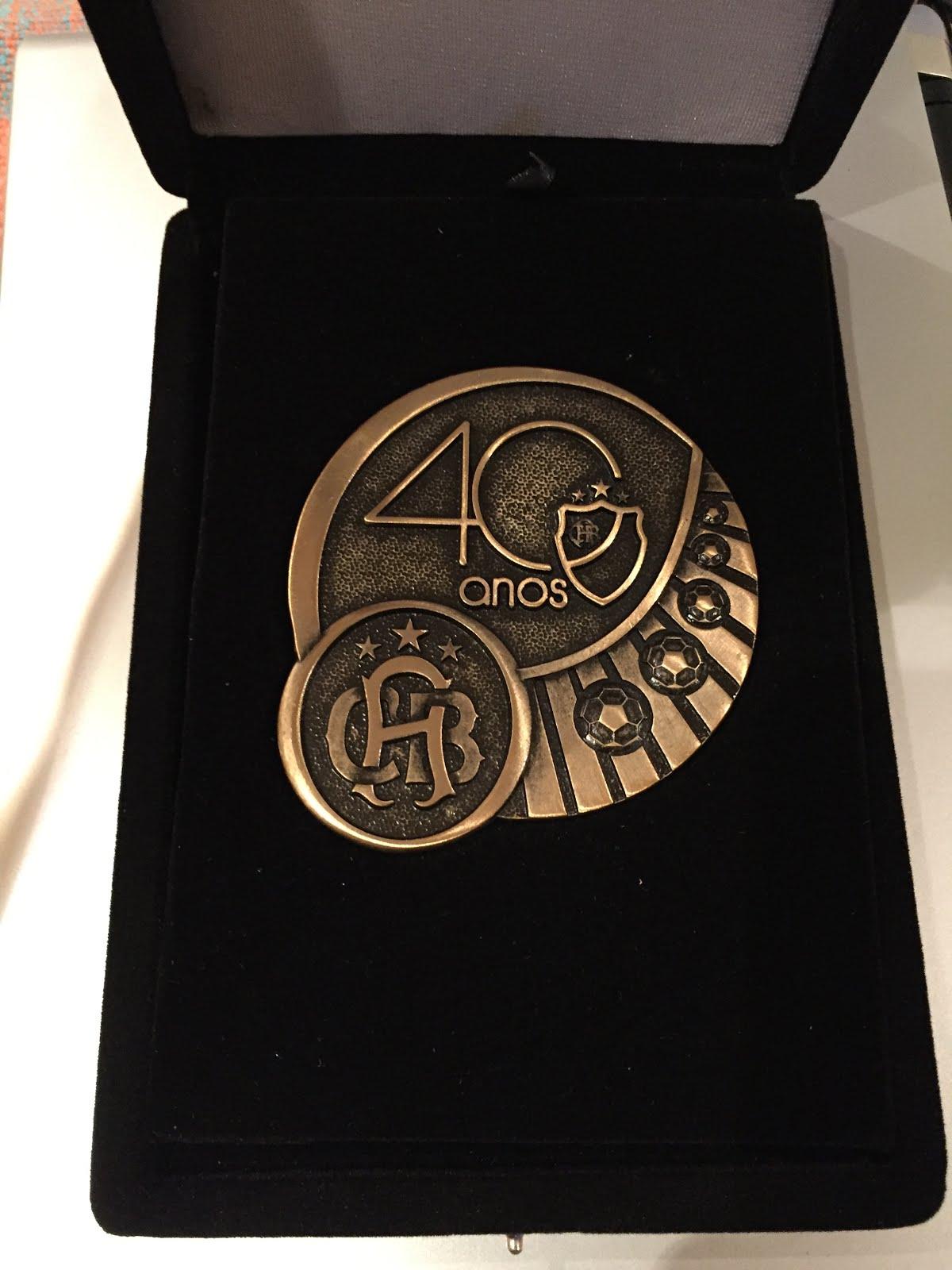 ACBF 40 Anos - Homenagem Profissional