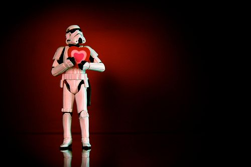 """Несколько забавных фигурок с персонажами из """"Звёздных войн"""" star wars valentine"""