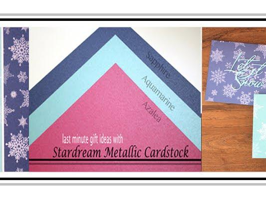 Stardream Metallic card gift set