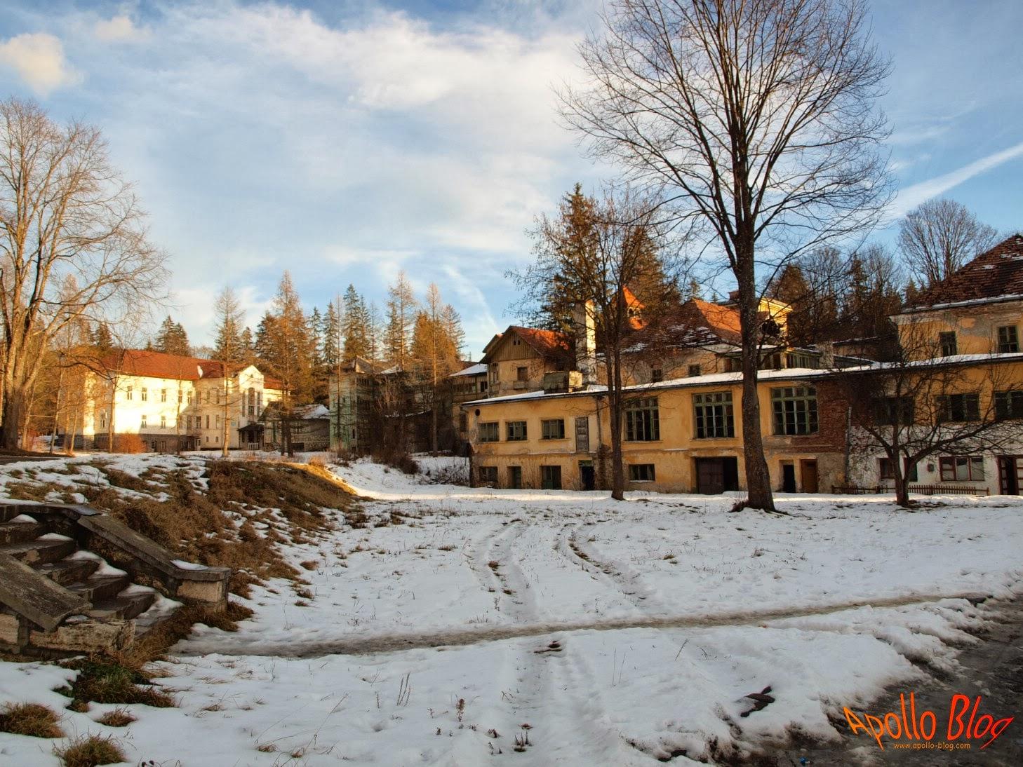 Borsec, cladiri vechi