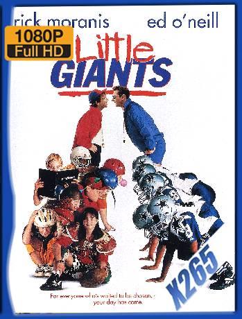 Little Giants (1994) x265 [1080p] [Latino] [GoogleDrive] [RangerRojo]