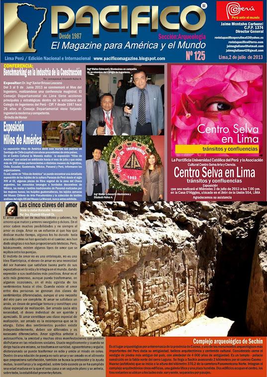 Revista Pacífico Nº 125 Arqueología