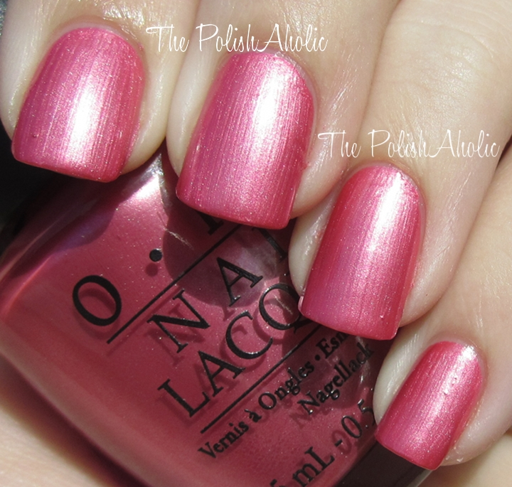 The PolishAholic: OPI The Amazing Spiderman Collection Swatches!
