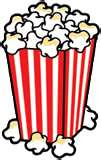 Cartoon Clipart bucket of popcorn and microwave healthy popcorn recipe