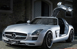 Cars & Girls: Inden Design Mercedes SLS AMG & Katja Runiello