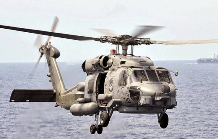 helicopter MH 60R Seahawk