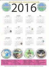 CALENDÁRIO EVENTOS 2016