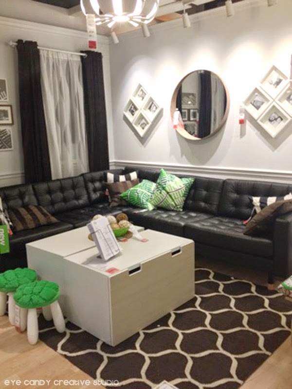 A Couple Items I Am Totally Digging In This Photo: This FAB New Mirror On  The Wall Above The Couch U003d Amazing! PLUS This Rug . . . Gotta Love That Rug! Part 14